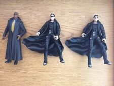 "The Matrix Series 1 NEO & MORPHEUS 6"" Action Figure N2 Warner Brothers Toys 1999"