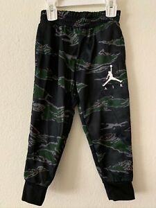 Jordan Air Nike Therma- Fit Tiger Camo Boy's Toddler Jogger Pants 755715