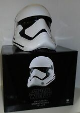 STAR WARS FORCE AWAKENS FIRST ORDER STORMTROOPER HELMET Anovos 1:1 scale NEW