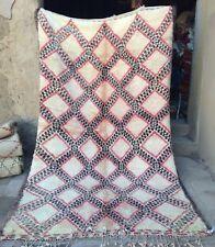 Vintage Marocain Beni Ouarain Tapis (#319) 315 x 185 cm