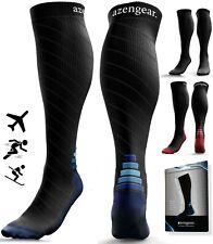 Ski Compression Socks, Anti DVT Shin Splints Calf Pressure Support (20-30 mmHg)