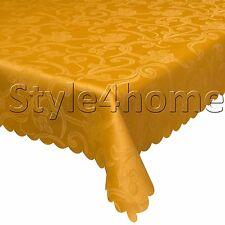 Fantastico grande macchia resistente tessuto TOVAGLIA IDROREPELLENTE 160x220 Arancione