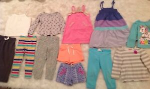 Girls 2T Spring Summer Mixed 12 Piece Clothing Lot Carter's, Circo, Old Navy