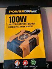 POWERDRIVE R PD100D 100 WATT DIRECT PLUG INVERTER