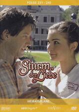 STURM DER LIEBE - 3 DVD - HEIRATSPLÄNE - Folge 231-240  ( Neu )