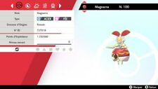 Pokemon Magearna ( passé )  + masterball - Battle Ready - Epée/Bouclier