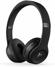 Beats Solo 3 Wireless Bluetooth On-Ear Headphones with Mic - Black A