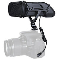 Movo VXR500 Professional Condenser X/Y Stereo Video Microphone for DSLR Cameras