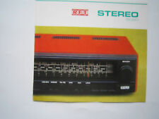 "Werbeblatt Radio ""Stereo 5080"",RFT Stern - Radio Berlin  von 1978"