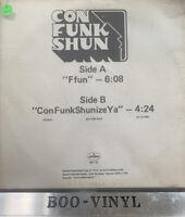 """Con Funk Shun – Ffun  ConFunkShunizeYa 12"""" Promo Vinyl Record"""