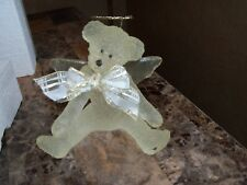 VERY BEAUTIFUL SARAH'S ATTIC ANGEL BEAR FOREVER ICE SCULPTURES