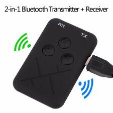 2 in 1 Bluetooth 4.2 Audio Receiver Empfänger und Transmitter Adapter 3,5-mm-Aux