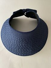 MAGID HATS  Navy Blue Straw Hat