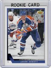 93-94 1993-94 UPPER DECK JASON ARNOTT ROOKIE CARD 423 EDMONTON OILERS