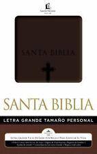Biblia Letra Grande Tama?o Personal (spanish Edition): By Thomas Nelson