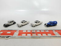 CA593-0,5# 4x Busch 1:87/H0 PKW/Lieferwagen Mercedes/MB: 220 + 170 V, NEUW