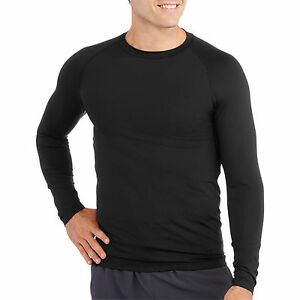 Starter Men's Long Sleeve Fitted Base Layer Tee Size 34-36 Small