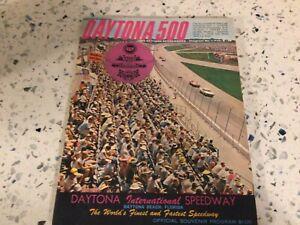 Vintage Original 7th Annual 1965 Daytona 500 Souvenir Program The Greats! EUC NR