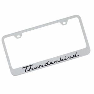 Ford Thunderbird License Plate Frame (Chrome)