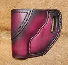 Gary Cs Leather Avenger Left Hand Owb Holster Revolver Sampw J Frame 3 Barrel