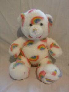 Build a bear workshop  Rainbow bear rainbow on foot VGC