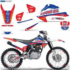 Decal Graphic Kit Honda CRF 230/150F Stickers w/Backgrounds CRF150F 04-07 XX