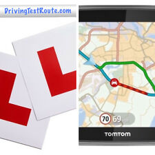 Car Driving Test Routes for UK centres in GPX format for Sat Nav Google Maps