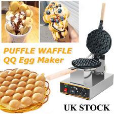 Eggettes Cake Maker Machine Electric Stainless Rotating Egg Bubble Waffle Baking