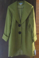 Womens Koret Special Occasion Dress Collection Peacoat Jacket Outwear 16W NEW