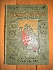 ANTIQUE 1897 THE SCOTTISH STUDENTS SONG BOOK ARTS AND CRAFTS NOUVEAU GLASGOW