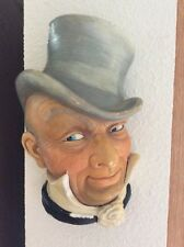 Mr. Micawber chalk hanging face. Made in England on 55/6/7