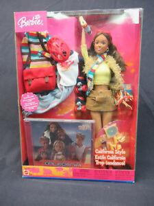 2004 Barbie California Style Hispanic doll w/3 outfits & CD (G6062) NIB
