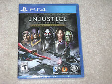 INJUSTICE GODS AMONG US ULTIMATE EDITION...PS4...***SEALED***BRAND NEW***!!!!!