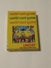 UNICEF World Card Game 1979 Rare