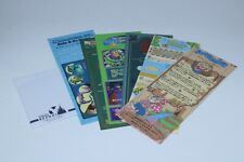 Tokyo Disneyland Story RIDE GUIDE Paper 7 Attractions Set * SPLASH MOUNTAIN Art