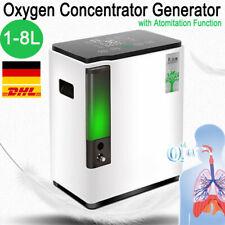 1-8L Oxygen Konzentrator Generator Sauerstoffkonzentrator 93% Sauerstoffgerät