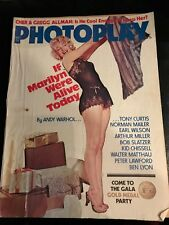MAG COVER MARILYN MONROE PHOTOPLAY  SEPT. 1985