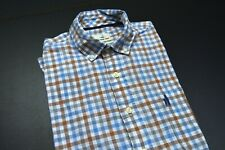 """JOHNNIE-O """"HANGING OUT"""" LS 100% COTTON CASUAL STANDARD DESIGNER SHIRT SIZE: M"""