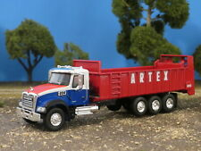 1/64 Custom Artex  Manure Spreader Vertical Beater on Mack Granite Truck