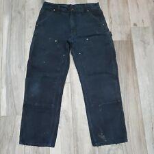 Vintage Carhartt Double Knee Carpenters Trousers Size W33xL30