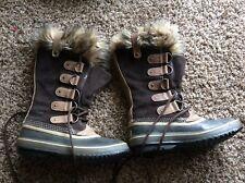Sorel Joan of Artic Waterproof Womens Winter Boot NL 1540-051 Size 8