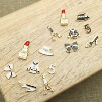 Alloy Clothes Shell Cell Mobile 3D DIY Lipstick Decoration Phone Accessories