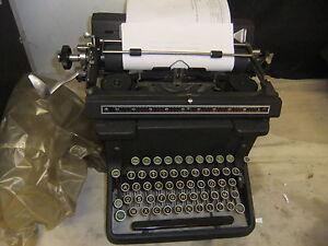 Typewriter manual JAPY European MUSEUM QUALITY inflation keys 1-100 million