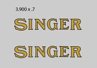 Industrial Singer Sewing Machine Restoration Decals 41254