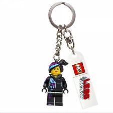 LEGO MOVIE Series WYLDSTYLE Minifigure Key Chain Ring Bag Charm 850895 BNWT