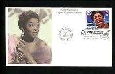 US FDC #2730 Mystic Cachet Washington music 1993 Cleveland, OH Santa Monica, CA