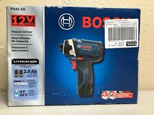 Bosch PS41-2A 12v Max Compact Professional Impact Driver Kit (NEW)