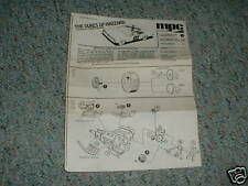 MPC Dukes of Hazard General Lee ChargerInstructions B.