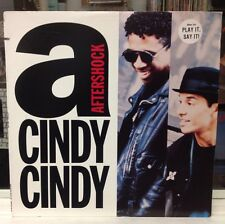 """[EDM]~NM 12""""~AFTERSHOCK~BOBBY KONDORS~FAMILY STAND~Cindy Cindy~[x5 Mixes]~1990"""