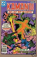 KAMANDI, LAST BOY ON EARTH #55, DC Comics 1978, VF-